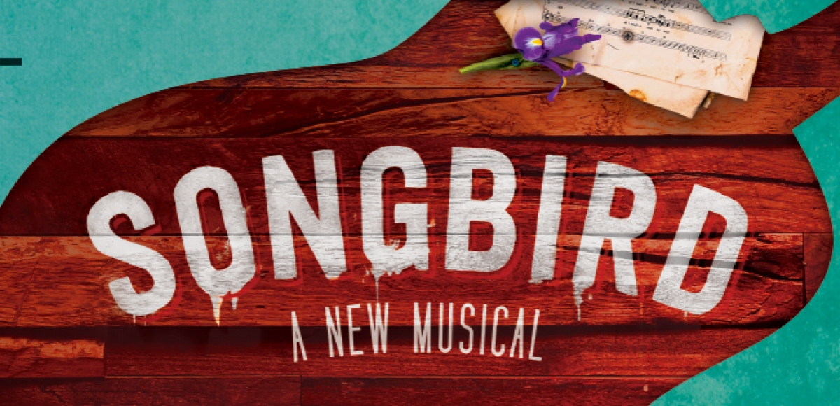 Songbird, a new musical show graphic.