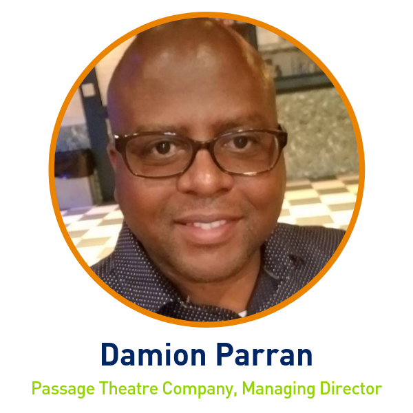 Damion Parran, Passage Theatre Company, Managing Director