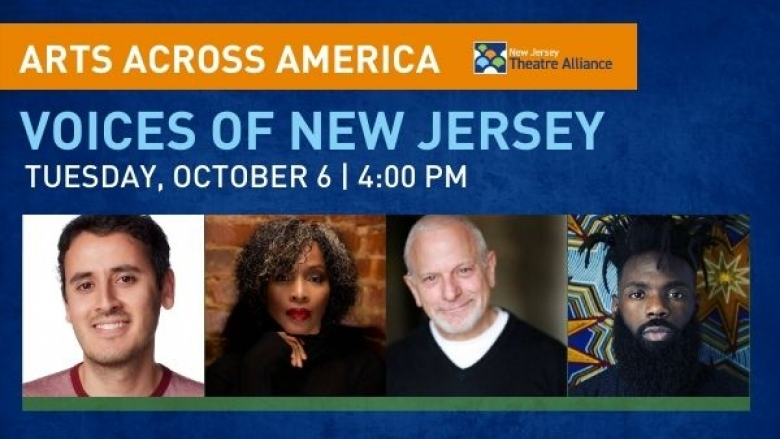 Voices of America information. Picture of 4 participants
