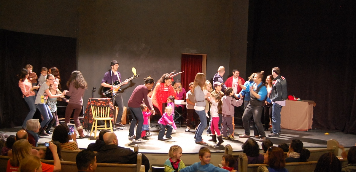 The Stages Festival presents free family shows throughout NJ in March. Photo by Jenna Rocca.
