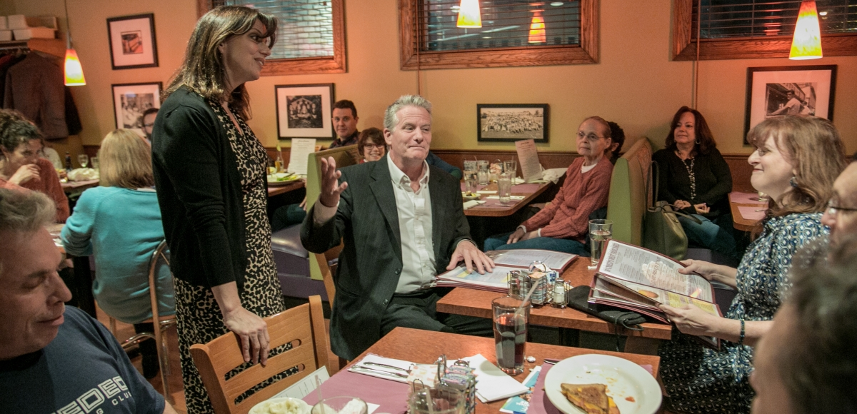 """Diner Theatre"" at Broadway Diner in Summit, March 27th at 8pm. Photo by Jerry Dalia."