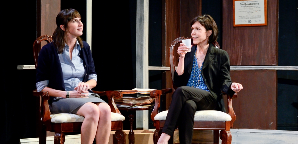 Jessica O'Hara-Baker and Harriett Trangucci in The How and the Why