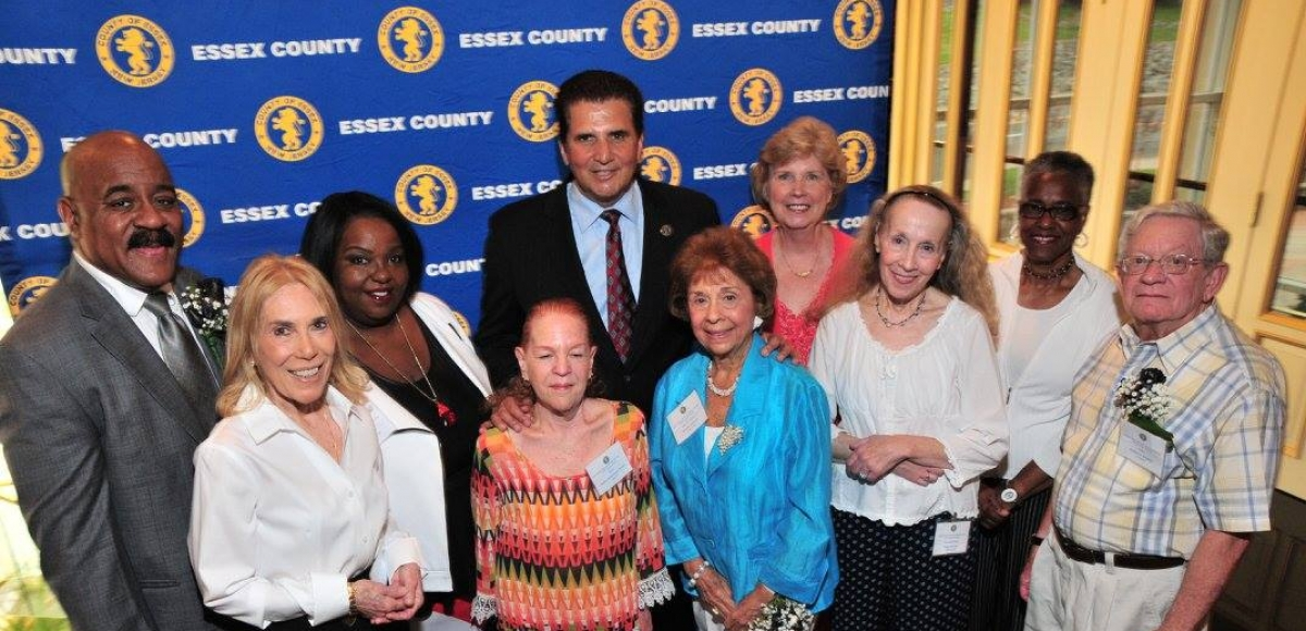 Essex County Executive Divincenzo And Division Of Senior Services Present Awards To Winners Of Annual Senior Citizen Legacies Writing Contest
