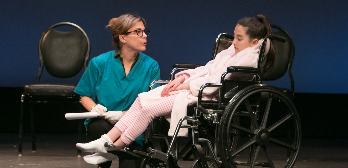 """Healing Arts OnStage: Caregivers Stories"" performance at Bickford Theatre in Morristown, March 23rd at 7pm. Photo by Jerry Dalia."
