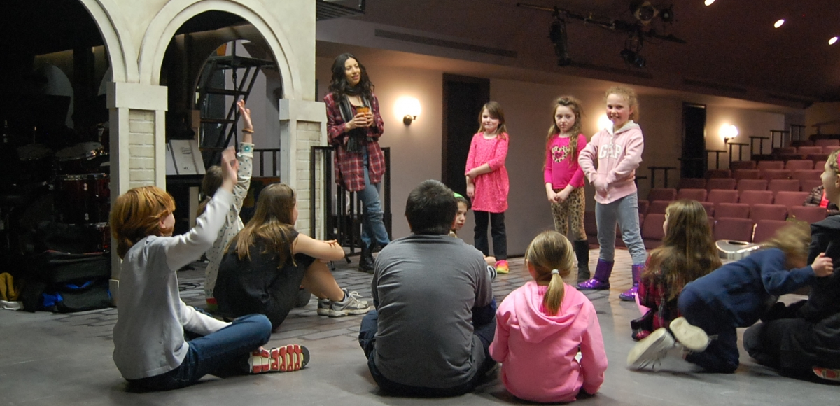 The Stages Festival presents theatre camps and classes throughout NJ in March. Photo by Jenna Rocca.