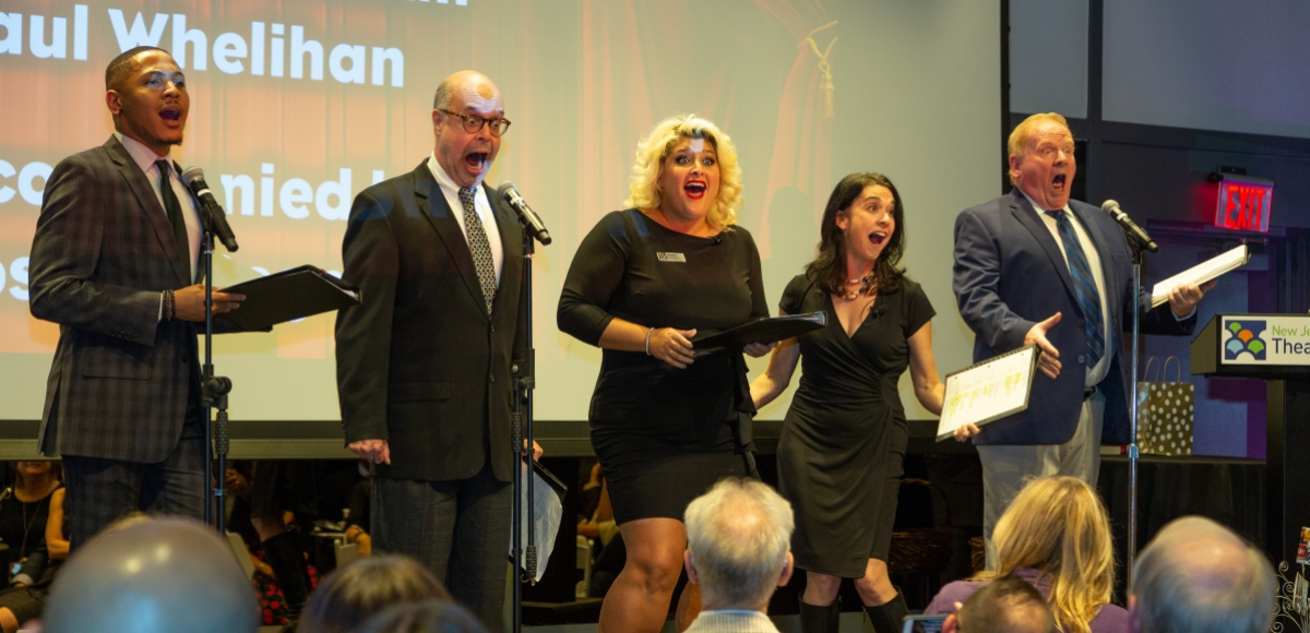 The Alliance Singers perform for Larry Capo
