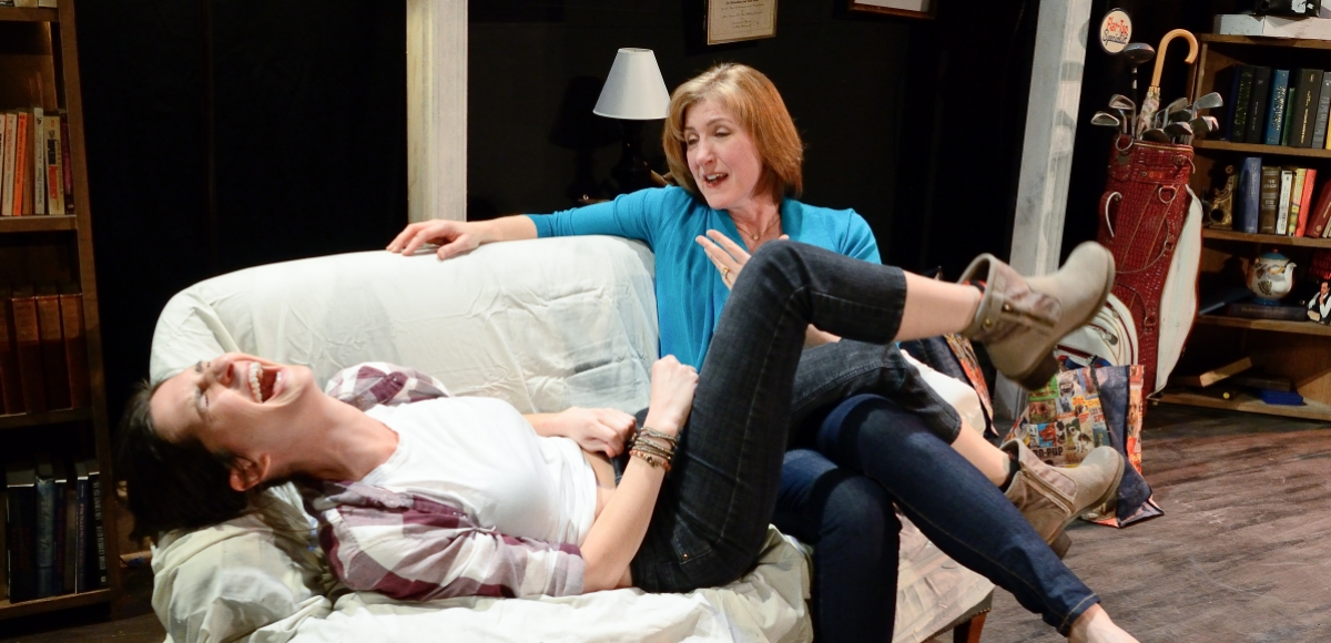 Jessica O'Hara-Baker and Laura Ekstrand in Sister Play