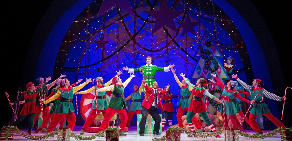Elf at Paper Mill Playhouse