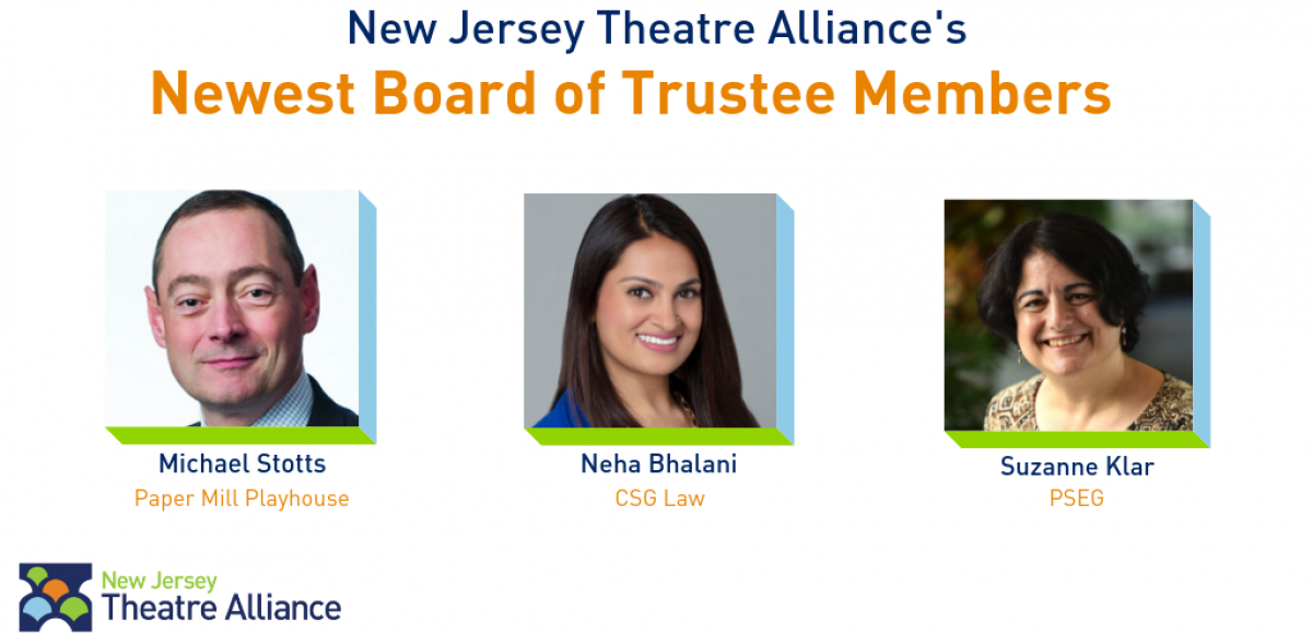 New Jersey Theatre Alliance's Newest Board of Trustees Members