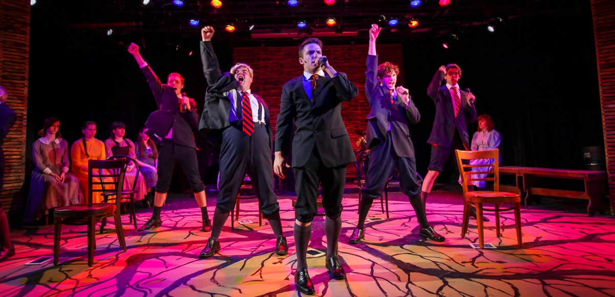 "A musical number from Garage Theatre Groups ""Spring Awakening"""