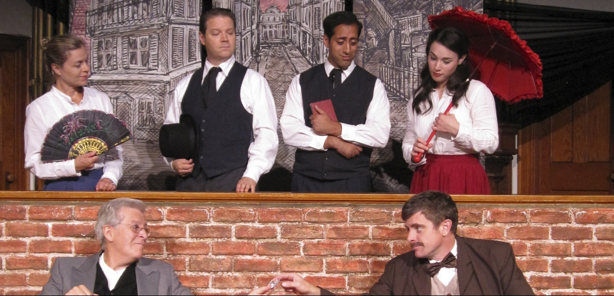 """The Poe Mysteries,"" a world premiere written by James Rana"