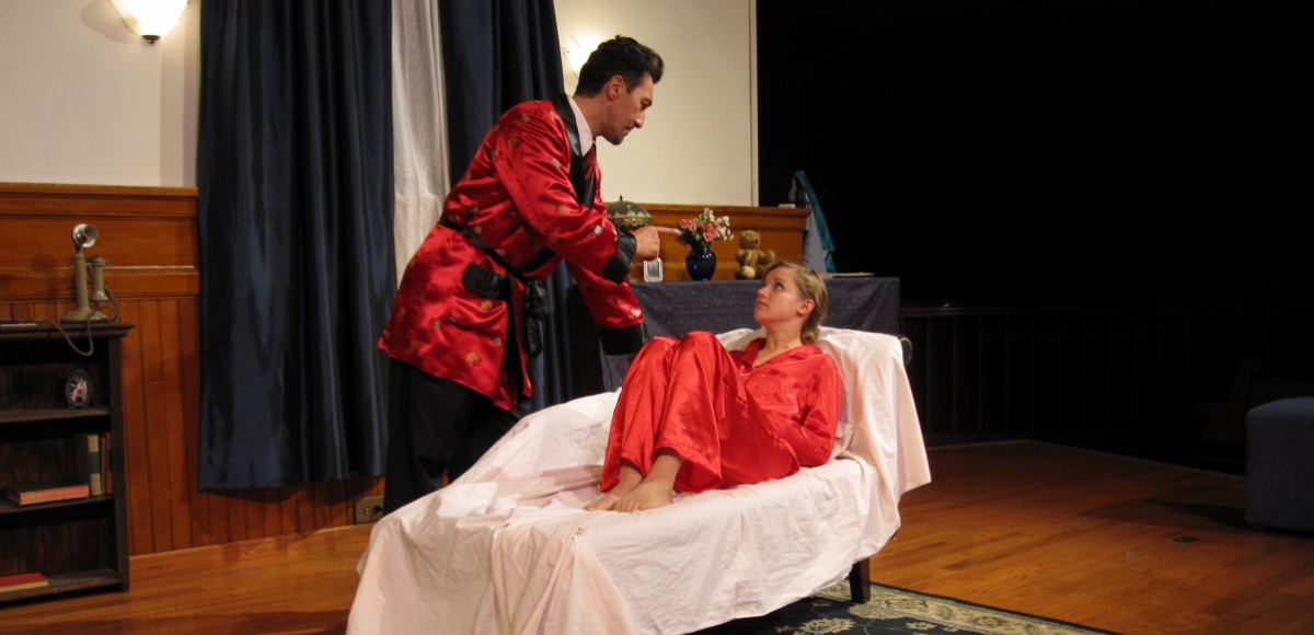Lino Del Core and Jennifer Bissell in Act 2