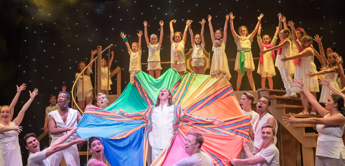 A scene from Joseph and the Amazing Technicolor Dreamcoat