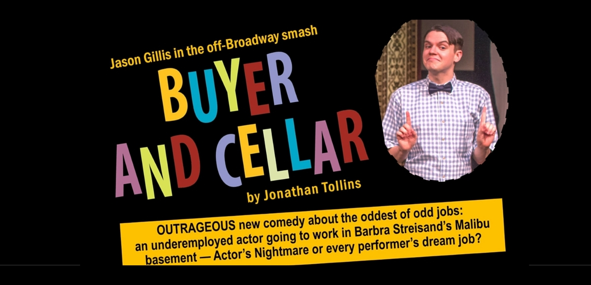 Buyer and Cellar by Jonathan Tolins at The Theater Project Maplewood NJ