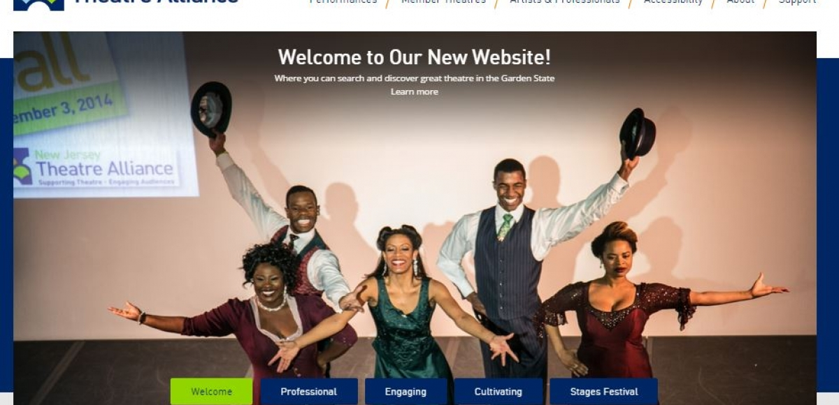 NJ Theatre Alliance Revamps Website and Discount Ticket Portal