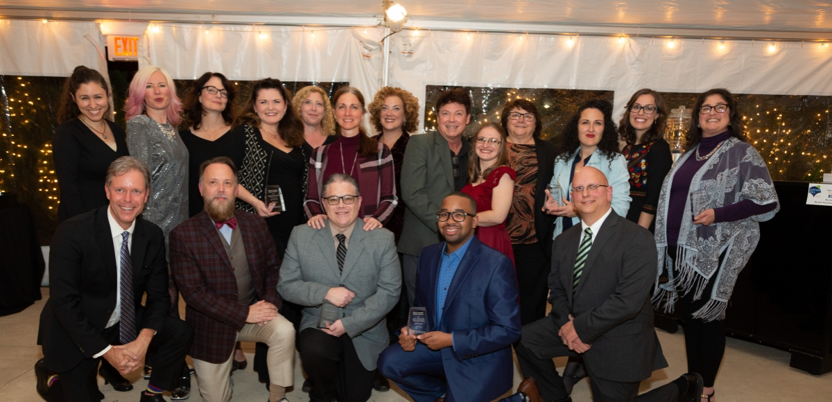 NJ Theatre Alliance Education Leaders awards of excellence at Curtain Call