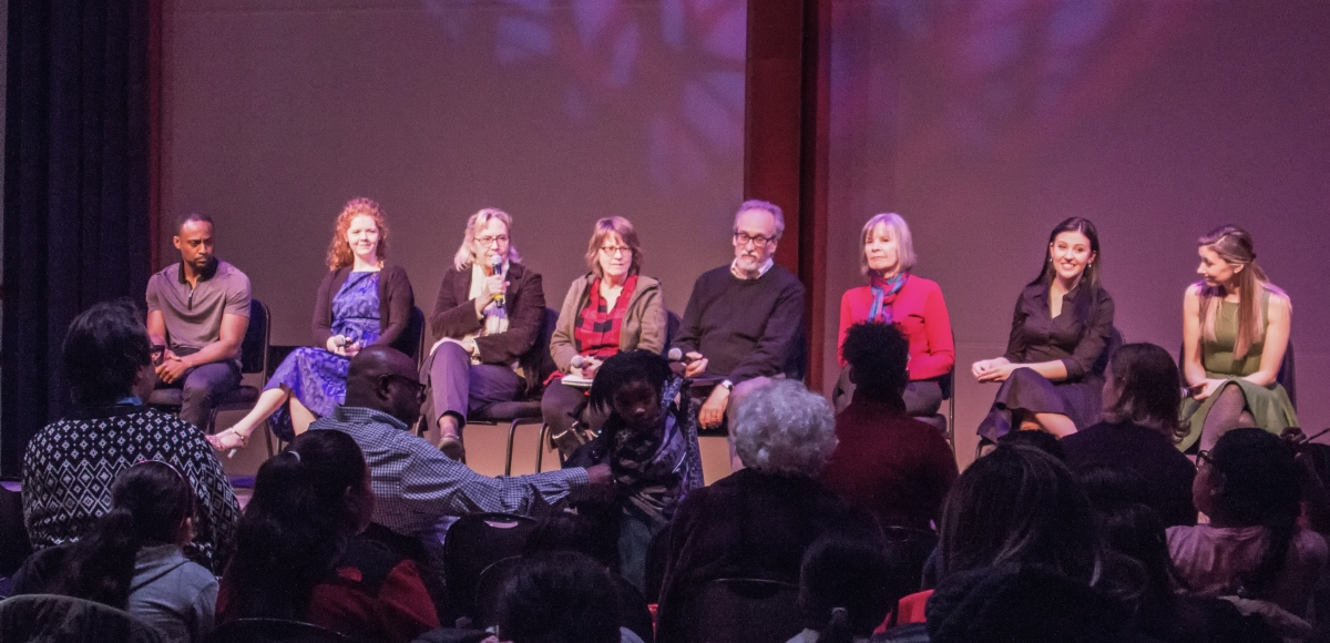 "NJPAC Stage Exchange presents a reading of ""Turning"" by Darrah Cloud. Photo by Lianne Shoenwiesner"