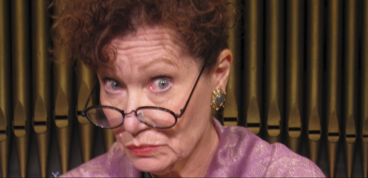 Suzanne Dawson performing in DOROTHY PARKER: A CERTAIN WOMAN
