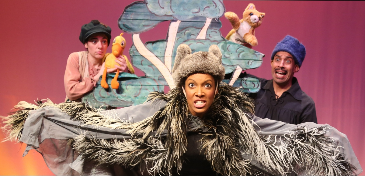 "Pushcart Players' ""Peter and The Wolf"""