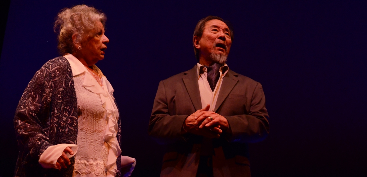 Randall Duk Kim and Anne Occhiogrosso