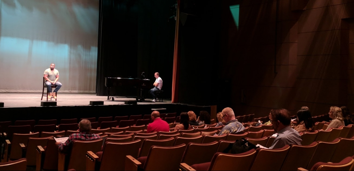 2018 Combined Auditions at South OrangePerforming Arts Center.