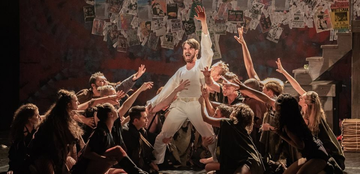 A scene from Jesus Christ Superstar