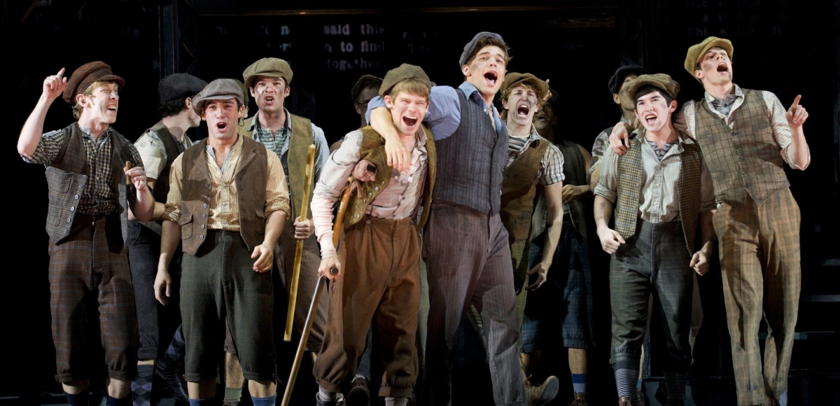 Paper Mill Playhouse's Newsies: one of the many plays and musicals that debuted in New Jersey before moving to Broadway. Photo by T. Charles Erickson.