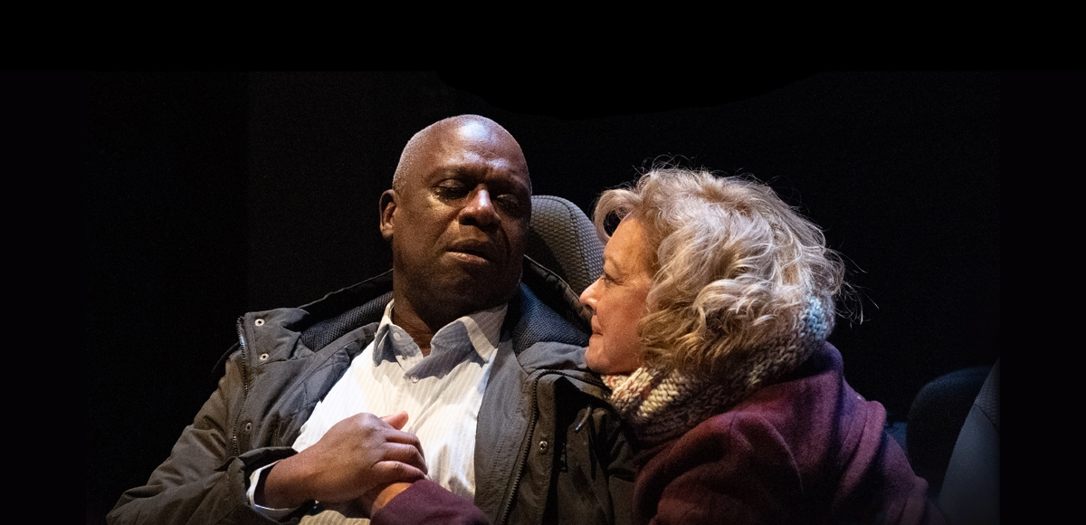 Andre Braugher and Michelle Pawk