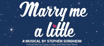 production artwork for Womens Theatre Marry Me a little
