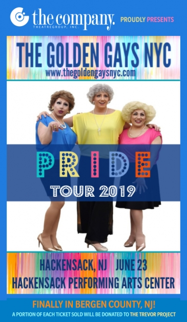GOLDEN GAYS GOLDEN GIRLS MUSICAL DRAG PARODY