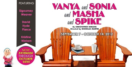 MCCarter Theatre Center's Vanya and Sonia and Masha and Spike